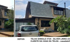 Case de sucesso: telha shingle transforma o visual de sua casa na troca de telhado