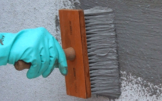 Como usar impermeabilizante para paredes casa da telha - Impermeabilizar paredes interiores ...