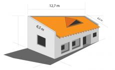 Telhado shingle pode sair 12% mais barato que telhado com cerâmica esmaltada