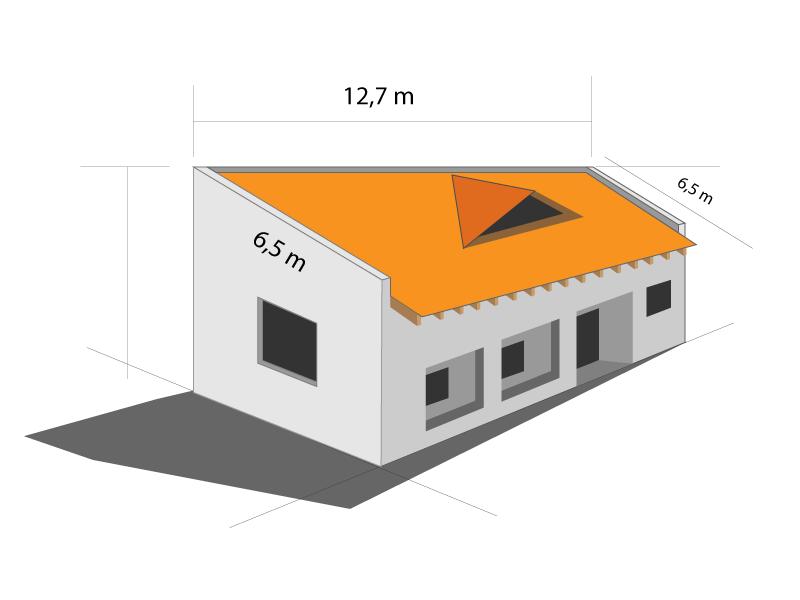 comparativo telhado shingle e telhado de cerâmica