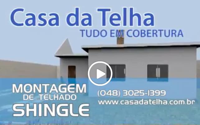 imagem video montagem shingle casa da telha
