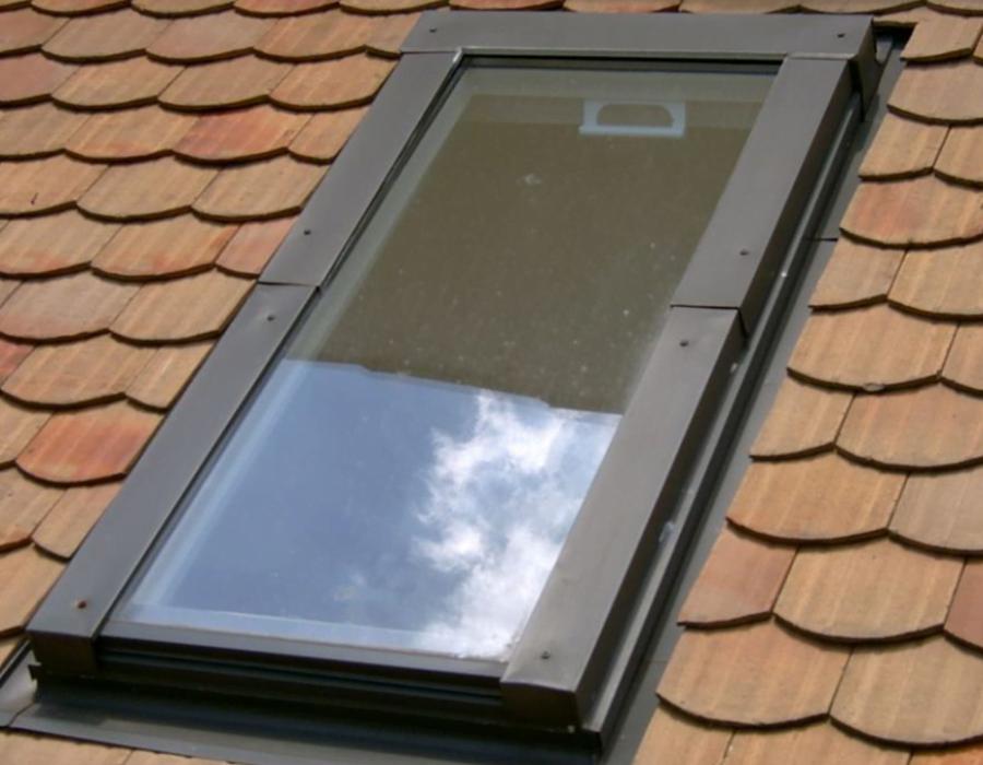 janela de telhado fixa - nao abre- casa da telha