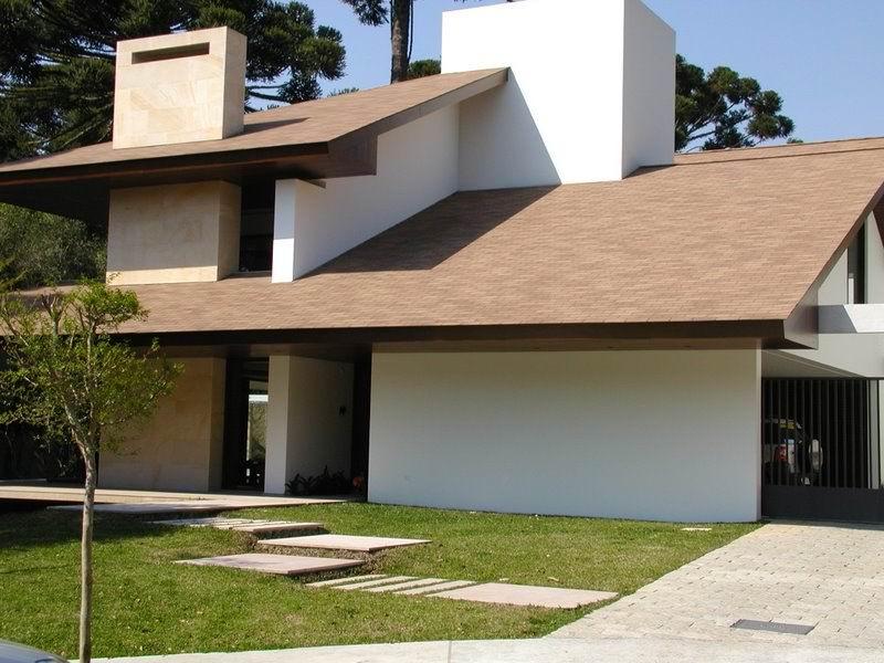 Telhas shingle casa da telha vendas para todo brasil for Fotos de casas modernas com telhado aparente