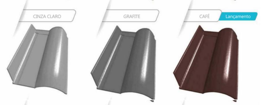 telha ceramica artgress cores cinza claro grafite e cafe 2