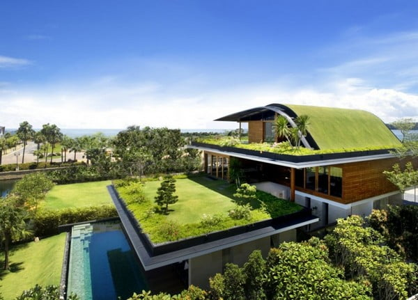 Telhados verdes e soluções ecológicas